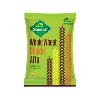 Ganesh Whole Wheat Atta, 5 kg