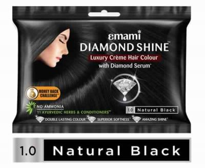 Emami Diamond Shine (Natural Black)