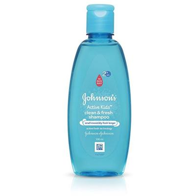 johnsons active kids clean and fresh shampoo 100ml