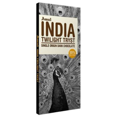 Amul Dark Chocolate - Single Origin, India, 125 gm