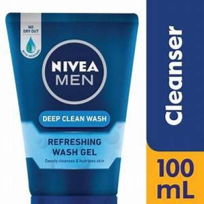 Nivea Men Cleansing Gel Deep 100ml