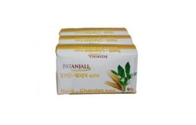 Patanjali Haldi Chandan Soap- 3x150g