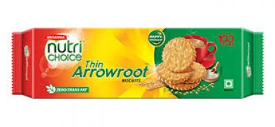 Britannia NutriChoice Thin Arrowroot Cookie 16 pis pack