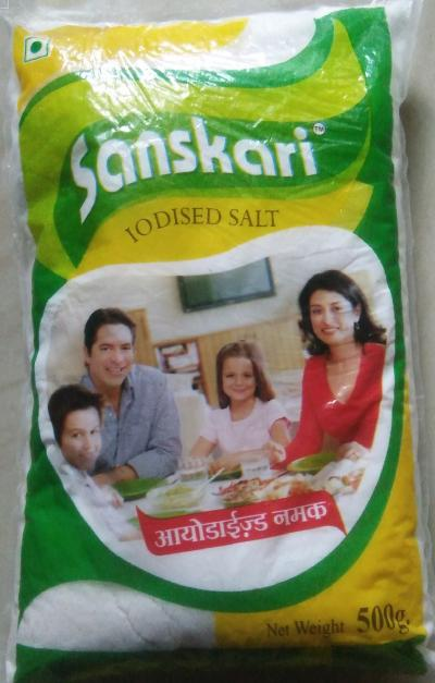 Sanskari salt 500 gm 25 kg pack