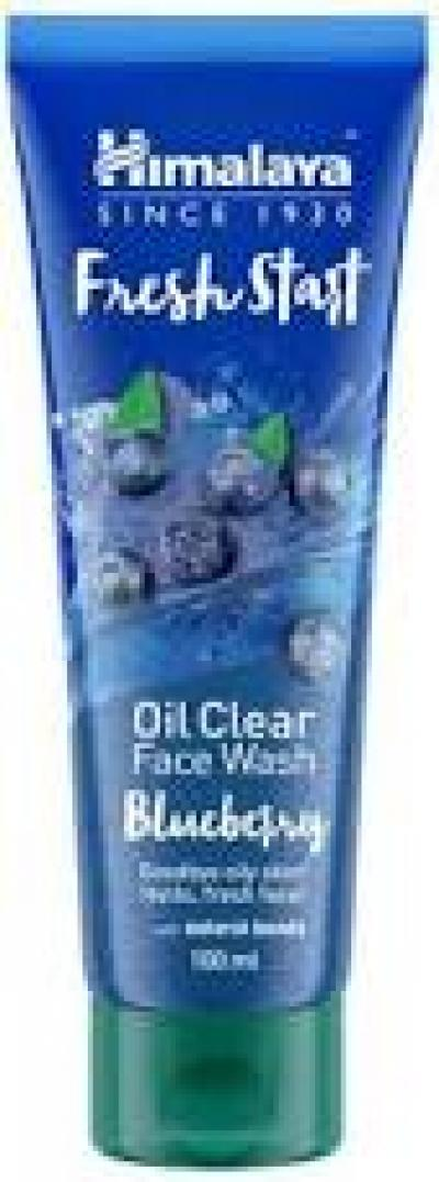 Himalaya Fresh Start Oil Clear Blueberry Face Wash 100ml