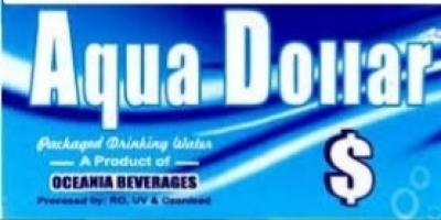 Aqua Dollar 2 litre water Bottle 9 pis pack