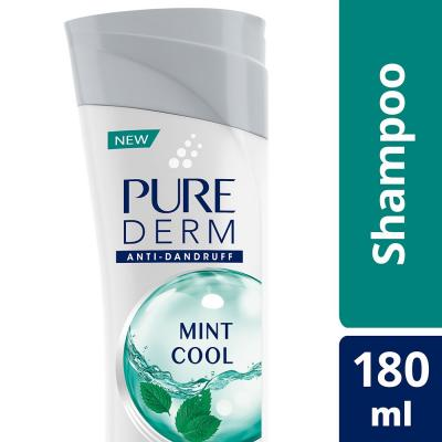 Pure Derm Mint Cool Shampoo 180 ml