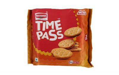 Britannia Time Pass Simply Salted 150g