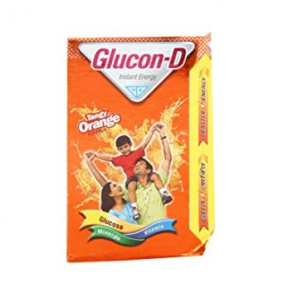 GLUCON-D ORANGE 250GM