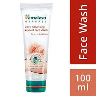Himalaya Herbals Deep Cleansing Apricot Facewash 100 ml
