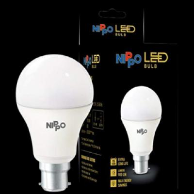 Nippo 9 watt led bulb 1 pc