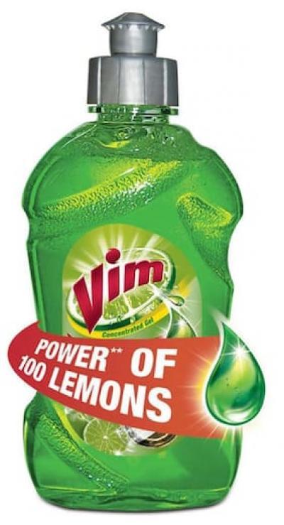 Vim Dishwash Gel, Lime, 500 ml