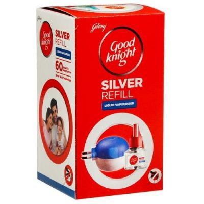 Good knight Silver Liquid Refill 60 Nights, 45 ml