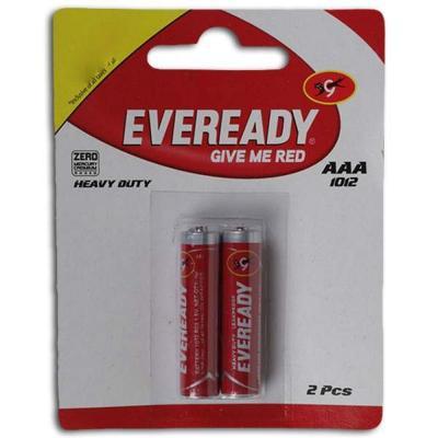 Eveready AAA 1012 Batteries 2 U (units)