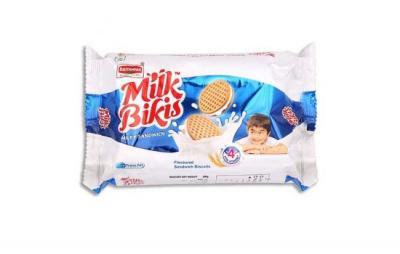 Britannia Milk Bikis Sandwich Biscuits 200g