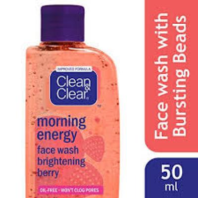 Clean & Clear Morning Energy Berry Face Wash 50ml